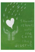 80. Shower veterans with the care they deserve