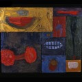 12 Untitled 9 watermelon 20x23 oil on sectioned panels 1996