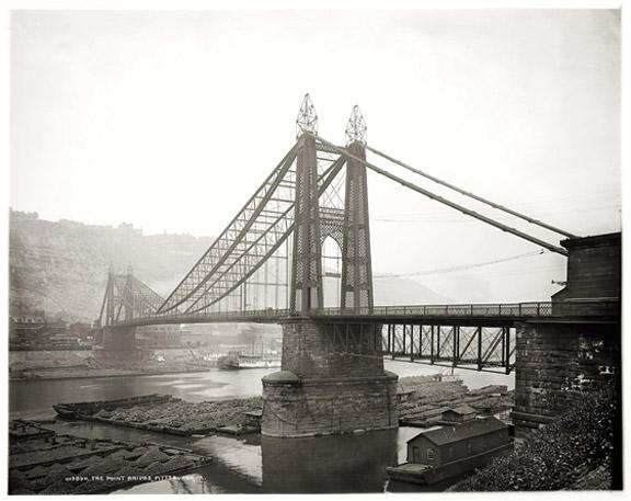 The Point Bridge, circa 1900