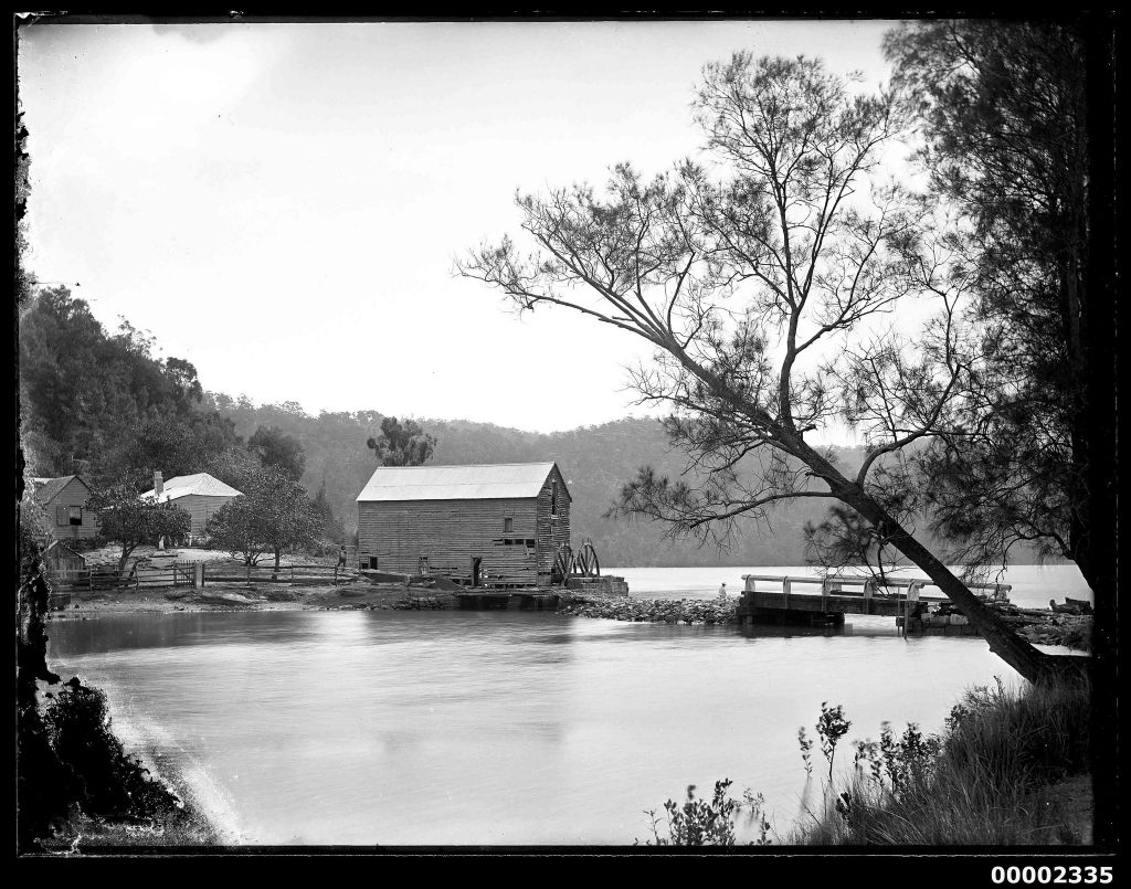 1890 Singletons Mill on the Hawkesbury River2