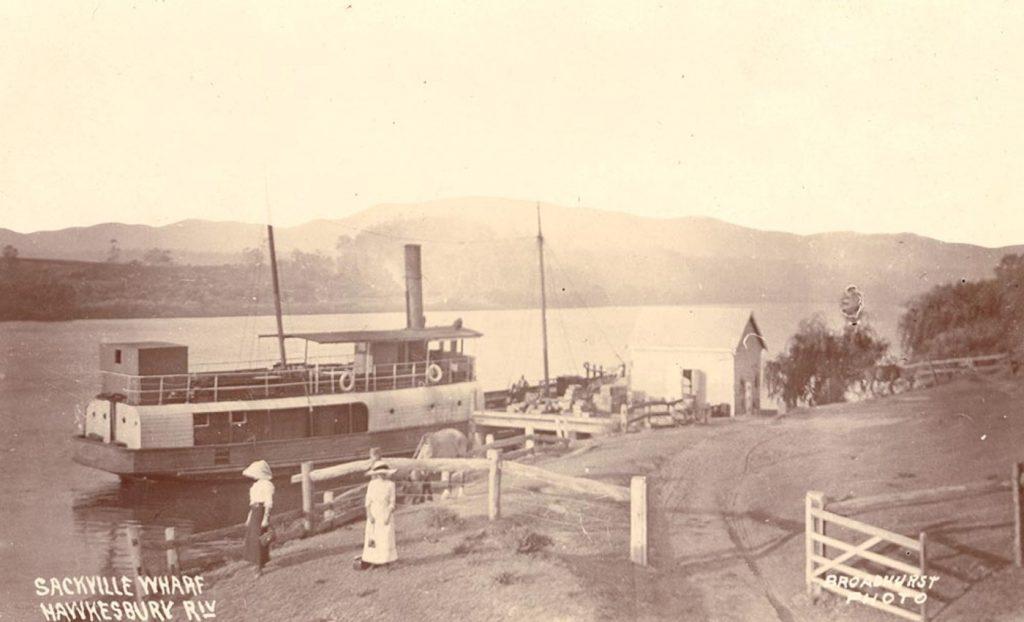 BROADHURST Sackville Wharf