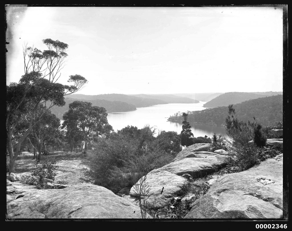 near Wisemans Ferry on the Hawkesbury River